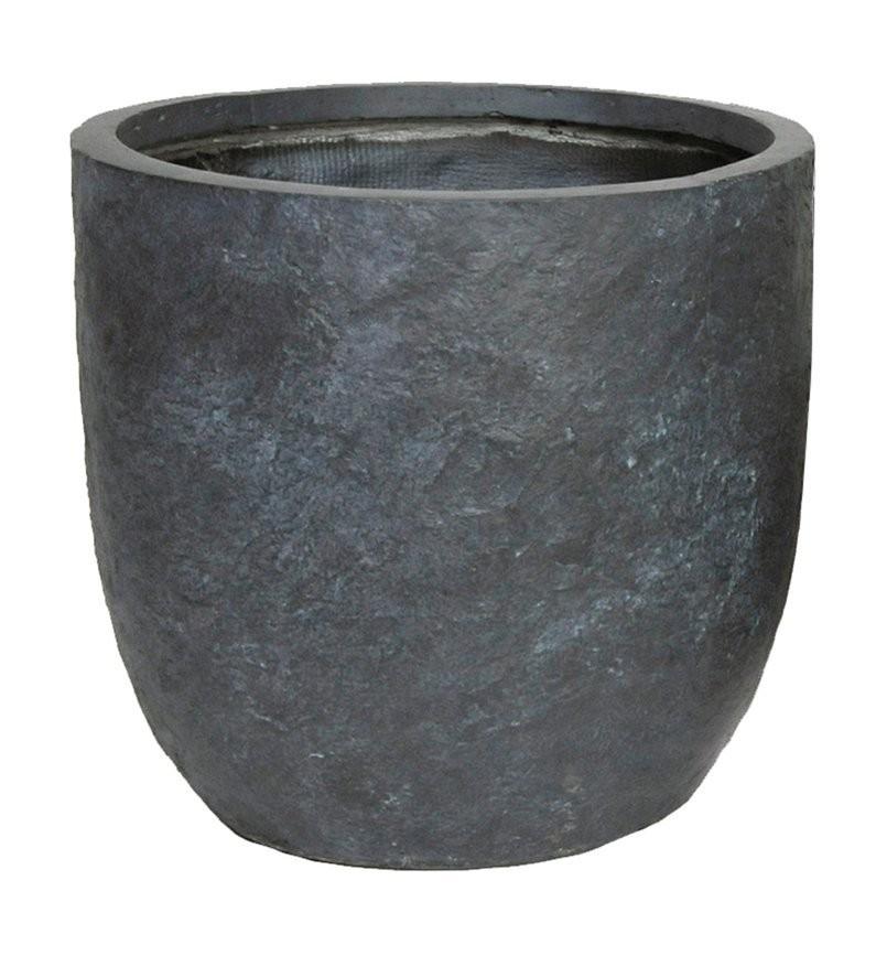 Arizona Egg Pot Graphite D25H25