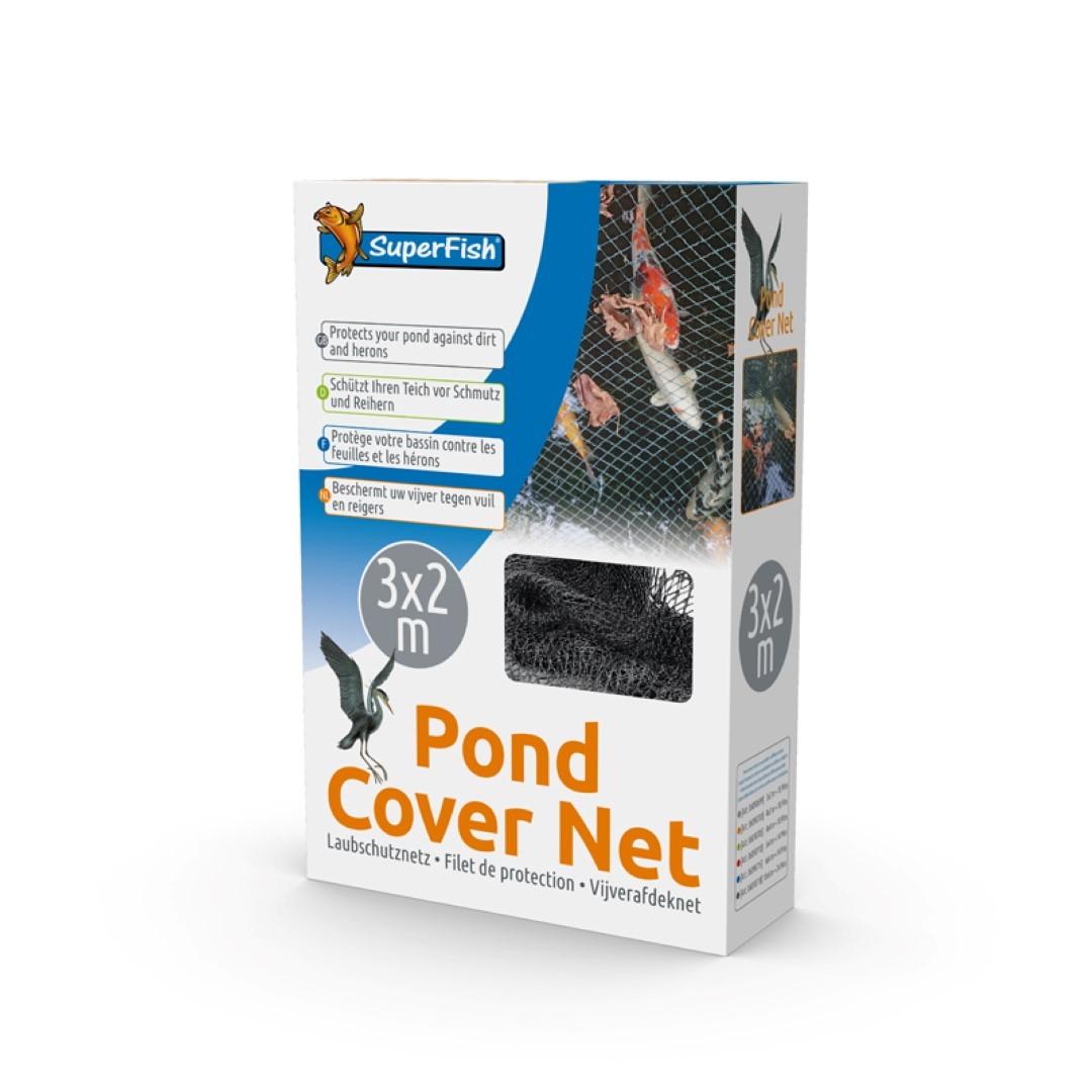 Superfish vijverafdeknet 3 x 2 m 10 pinnen