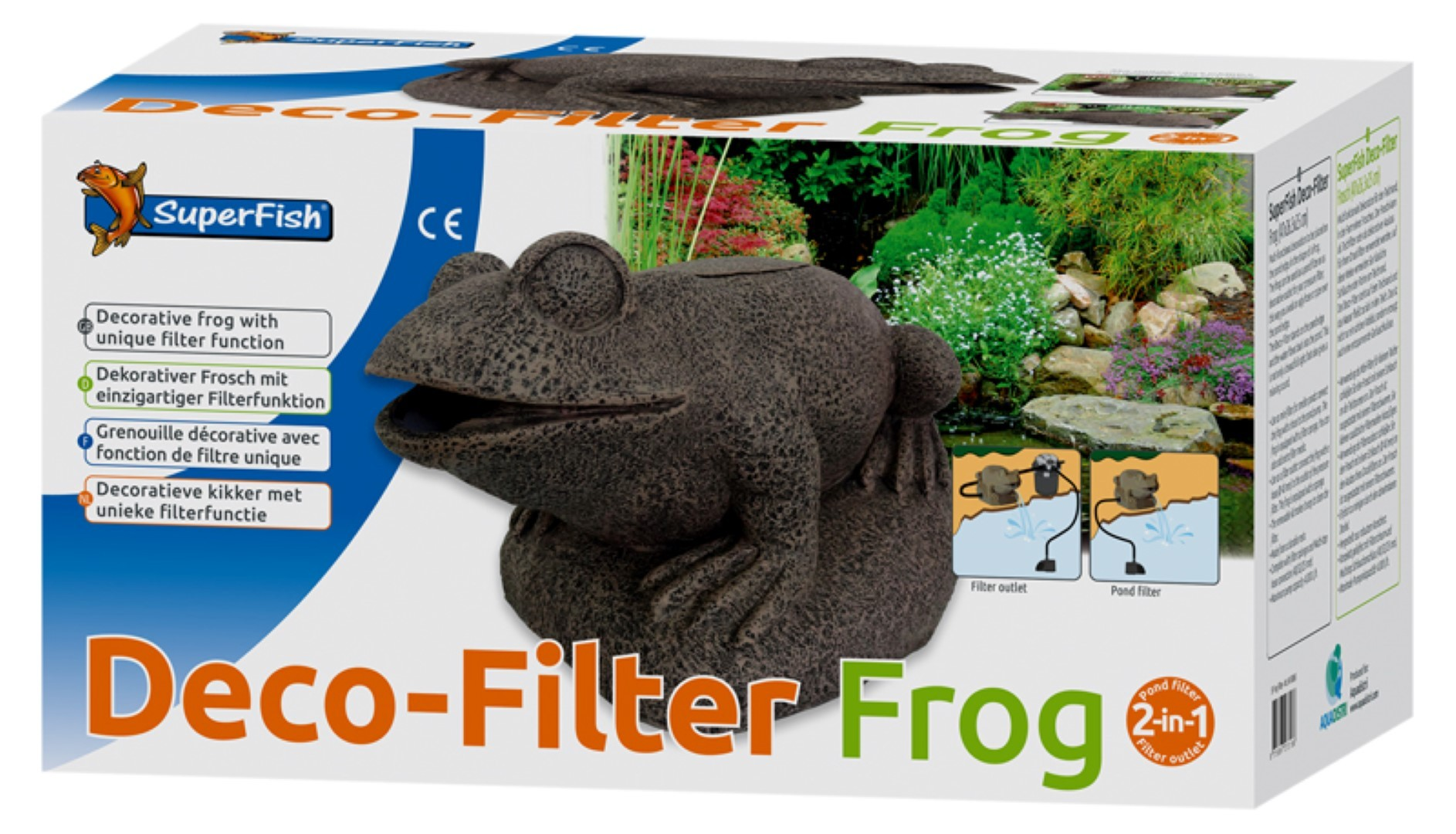 Superfish frog filter