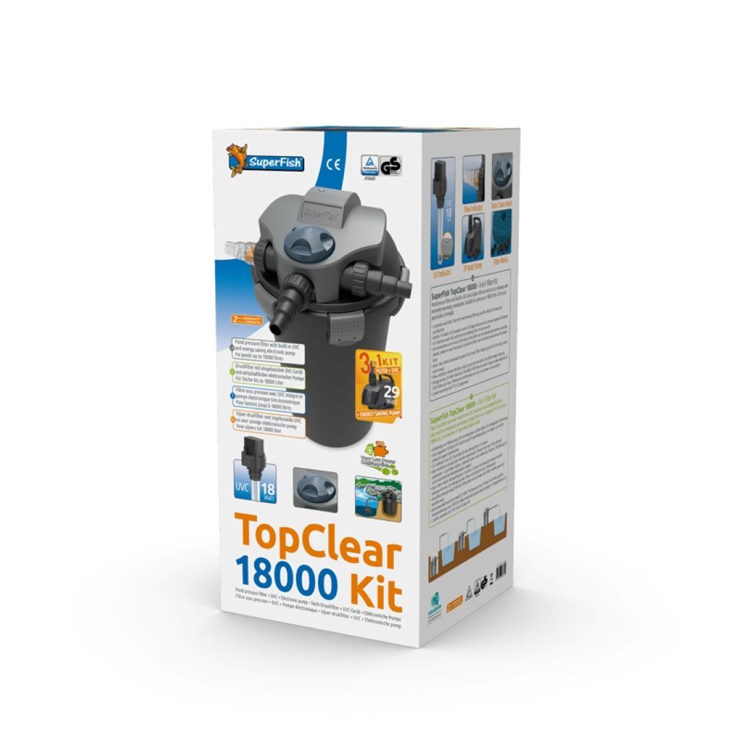 Superfish topclear kit 18000