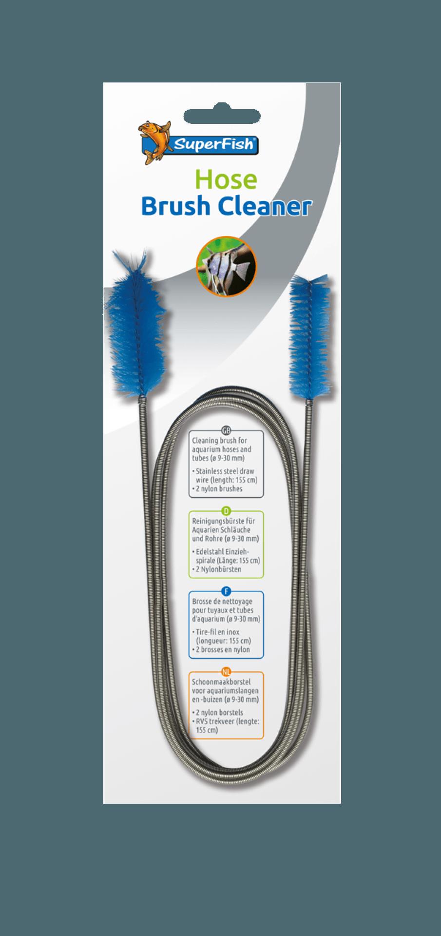 Superfish hose brush cleaner