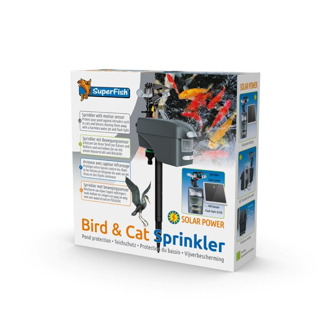 Superfish bird&cat sprinkler