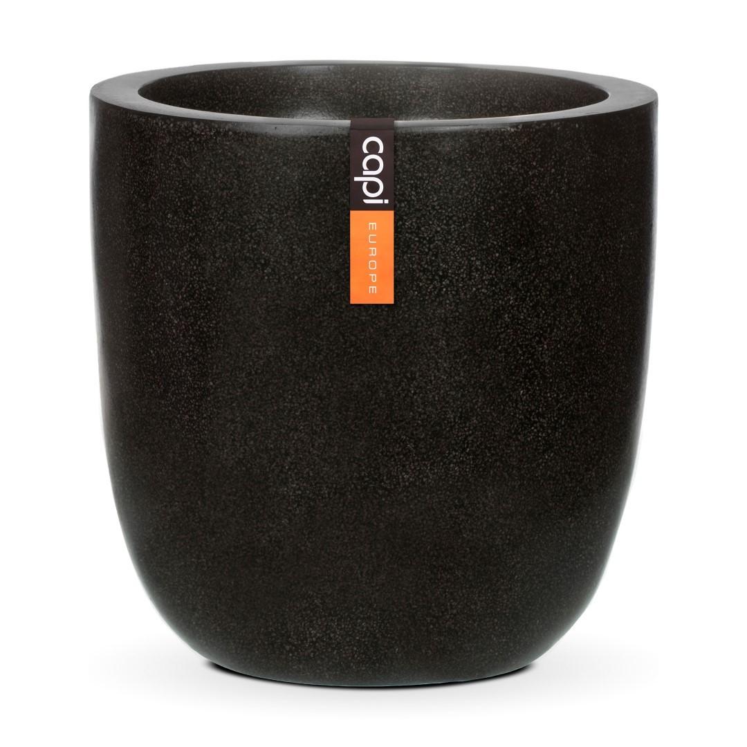Bloempot bol zwart 52 x 54 cm