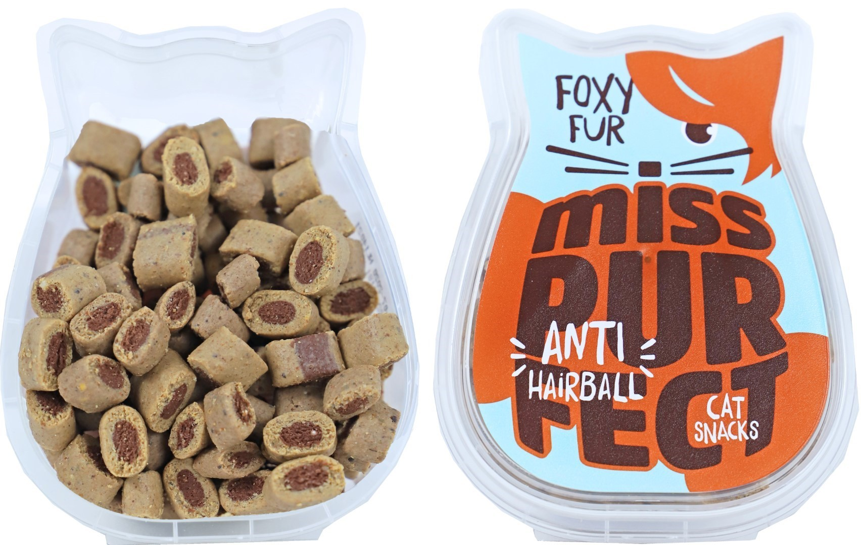 Miss Purfect cat snacks foxy fur 75 gram