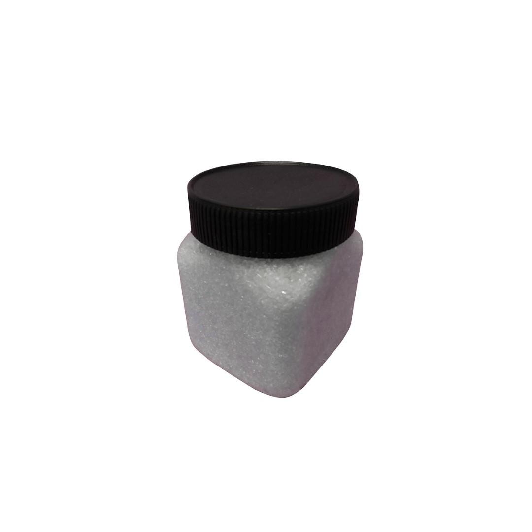 Glas steentjes wit fijn 450gr