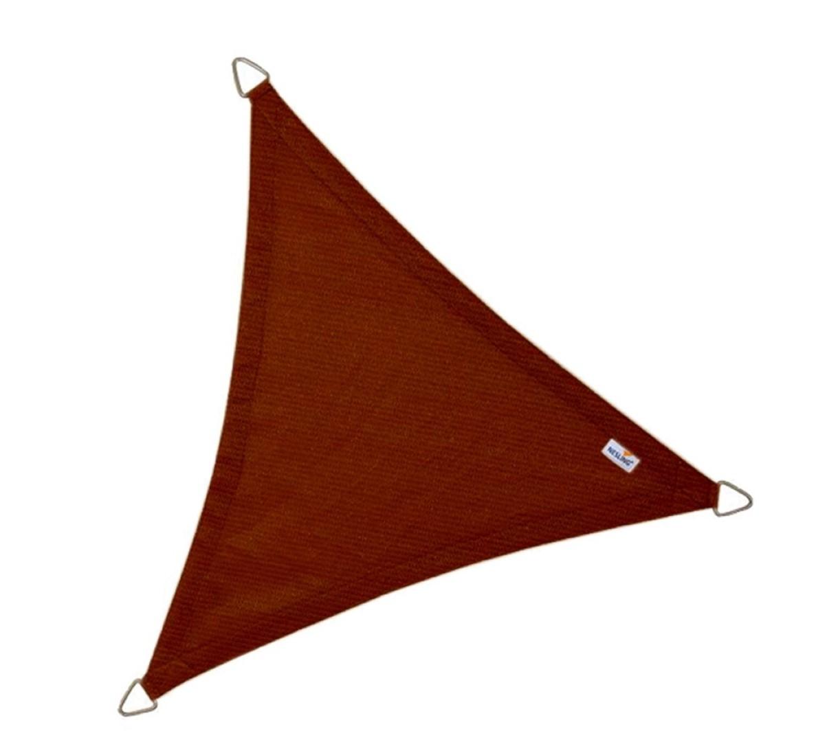 Driehoek 5,0 x 5,0 x 5,0m, Terracotta