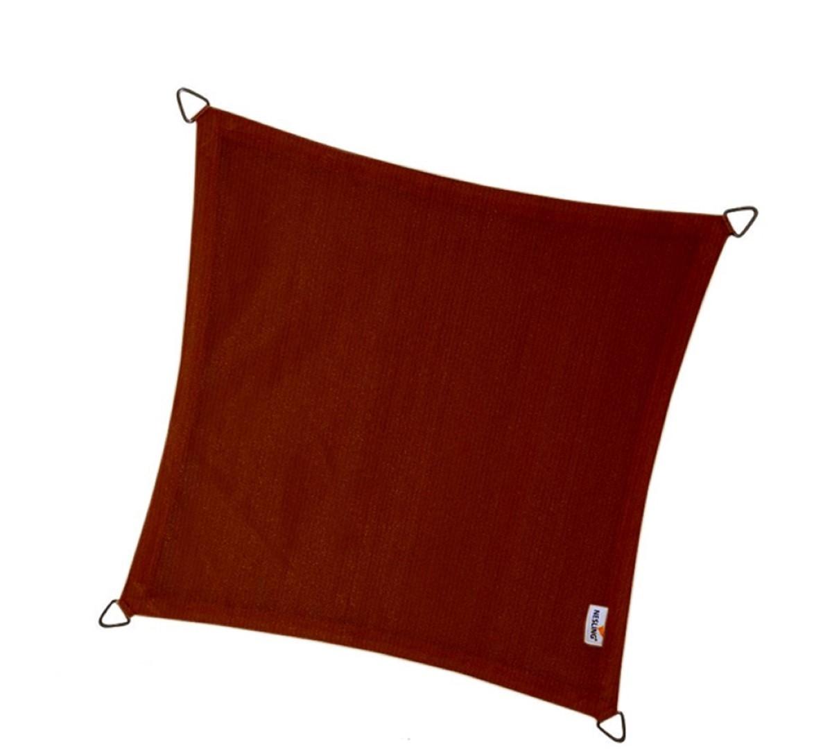Vierkant 5,0 x 5,0 x 5,0 x 5,0m, Terracotta