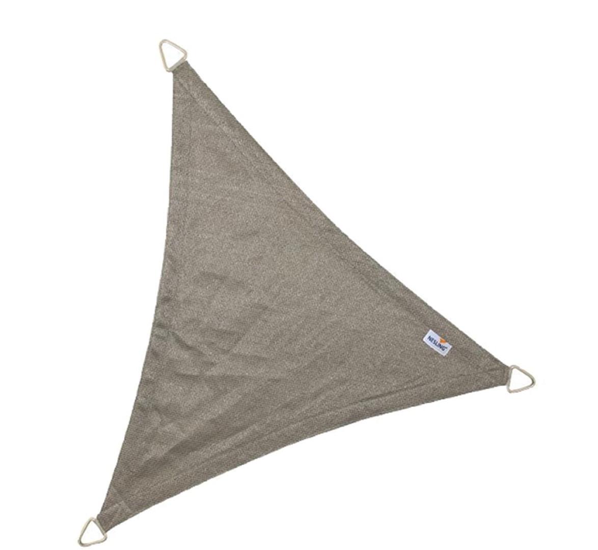 Driehoek 5,0 x 5,0 x 5,0m, Antraciet