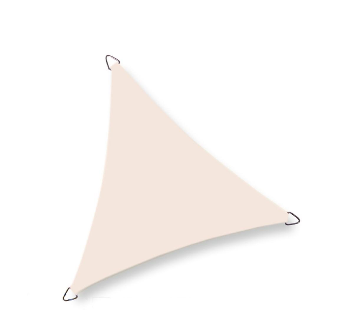 Driehoek 4,0 x 4,0 x 4,0m, Cream