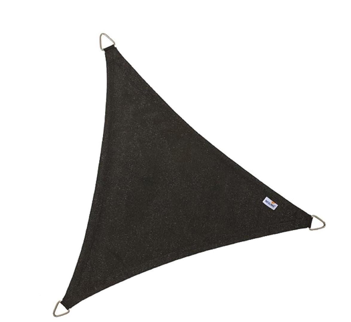 Driehoek 5,0 x 5,0 x 5,0m, Zwart