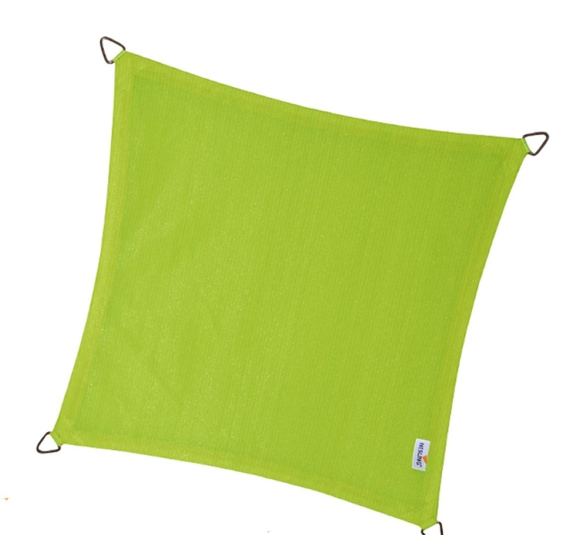 Vierkant 5,0 x 5,0 x 5,0 x 5,0m, Lime Groen