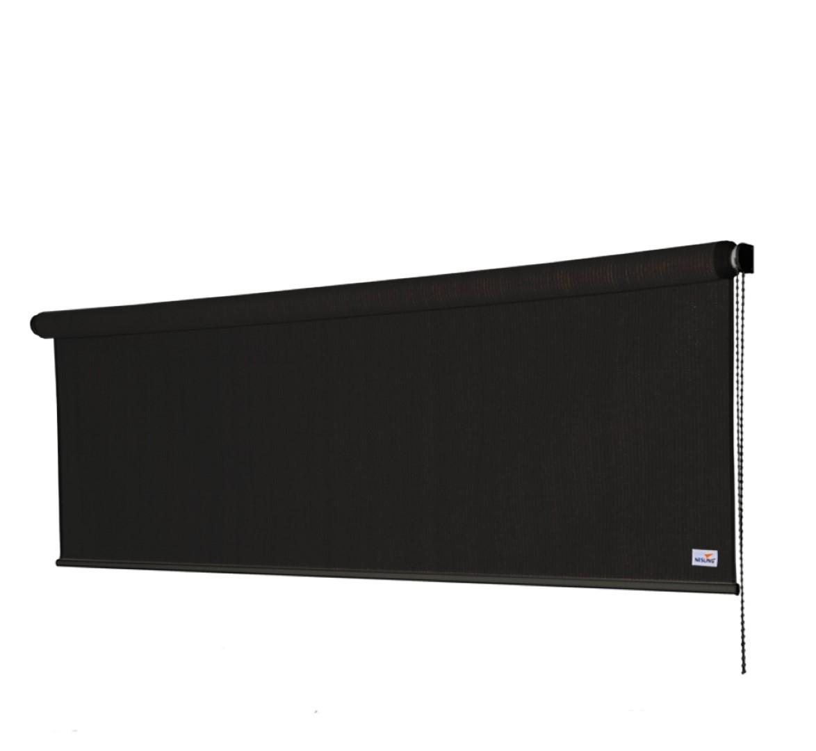 Rolgordijn B 1,48 x L 2,4m, Zwart