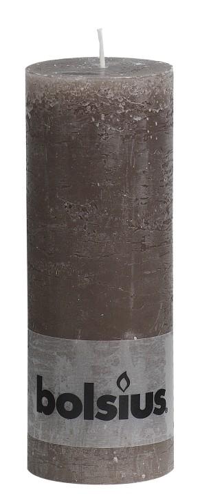 Stompkaars taupe Rustiek 190 x 68 mm