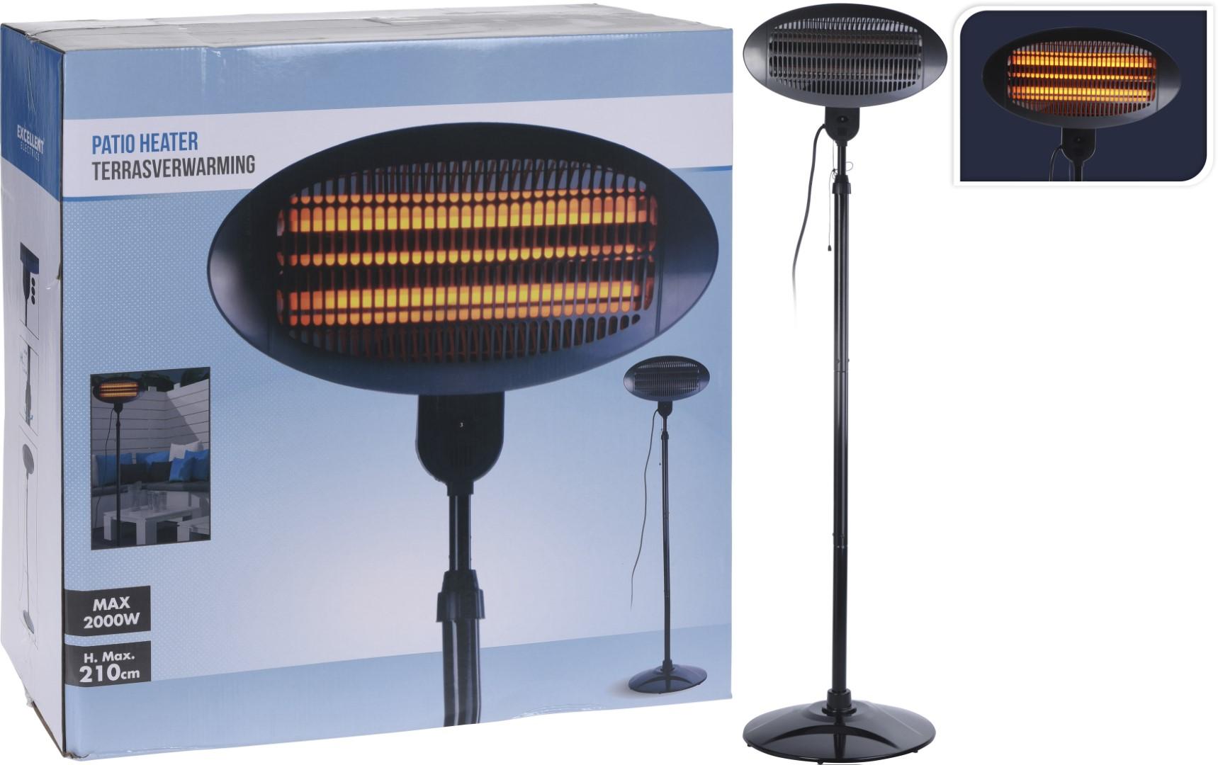 Terrasverwarming Staand 2000 W