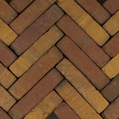 60 stuks! Art brick ruijsd gl/br 5x20x6.5 cm