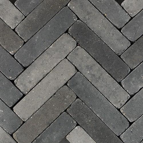 60 stuks! Retro. foney grijs/zwart 5x20x8 cm