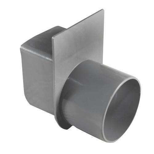 U litera drain eindstuk met uitl d60 mm