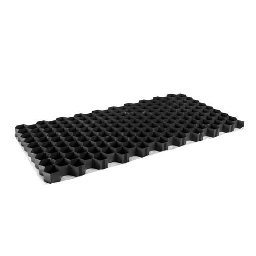 Gravel fix zwart 39x77x3.2x cm
