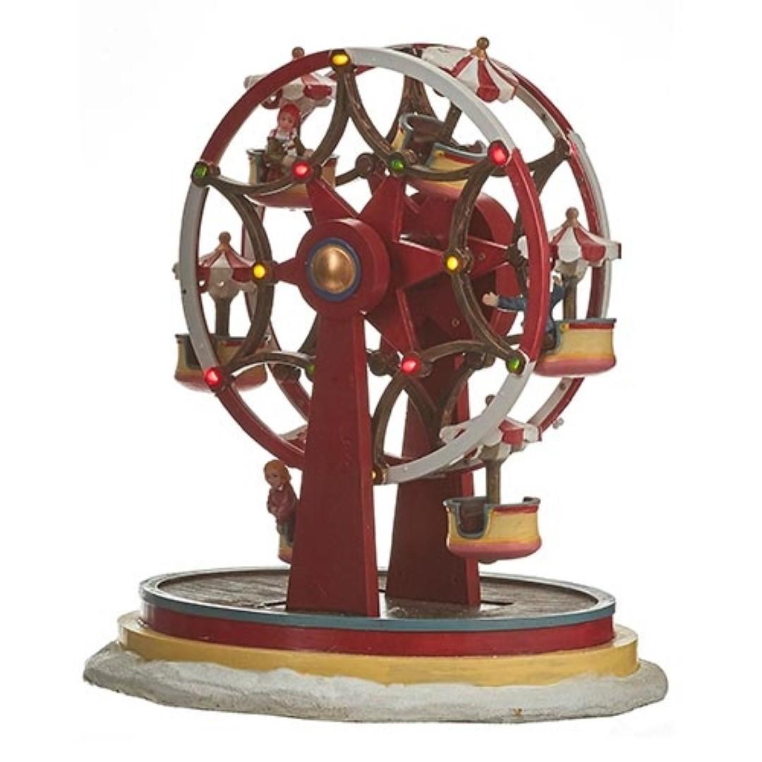 Luville Fair Ground Ferris Wheel Red
