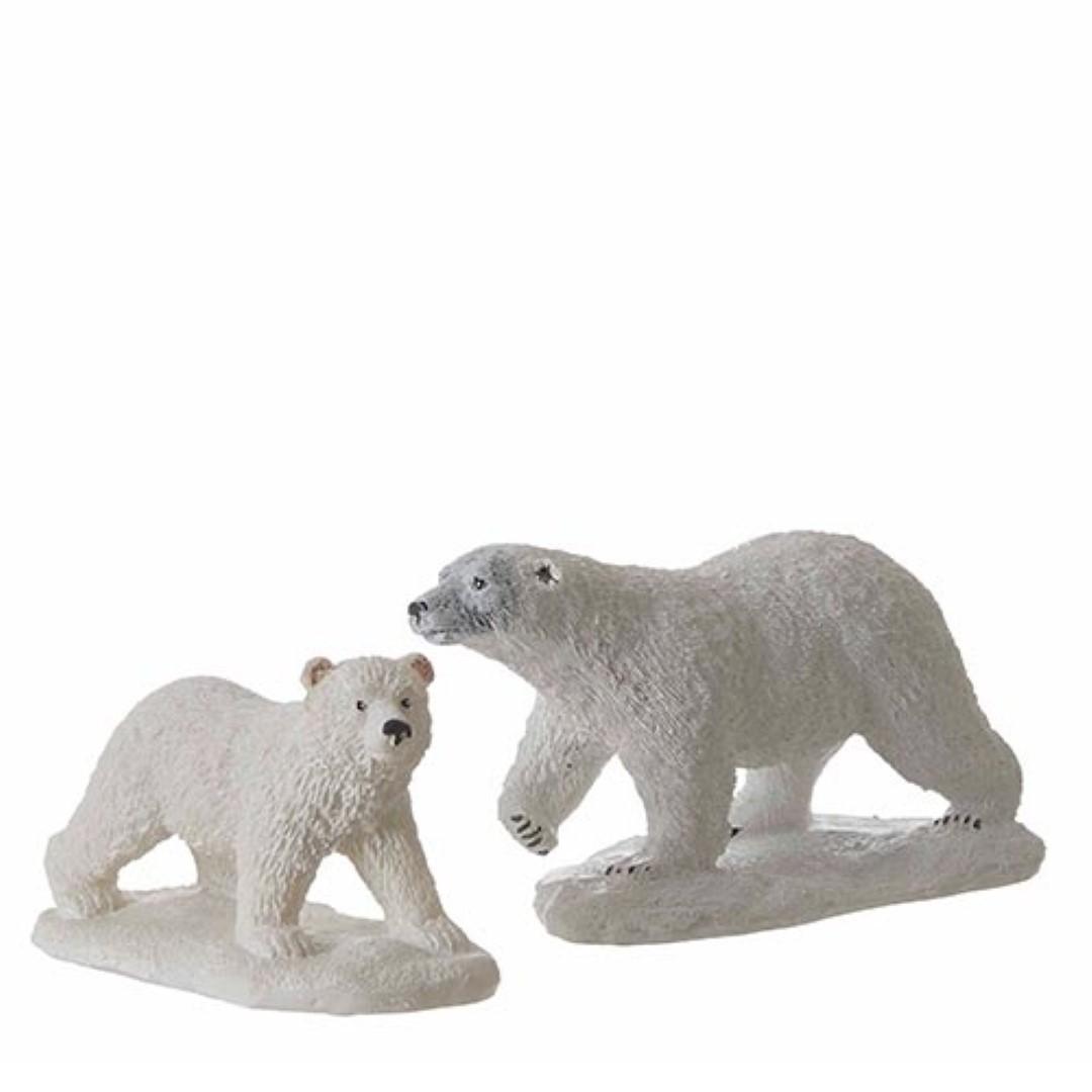 Luville Polar Bear White - 2 st.