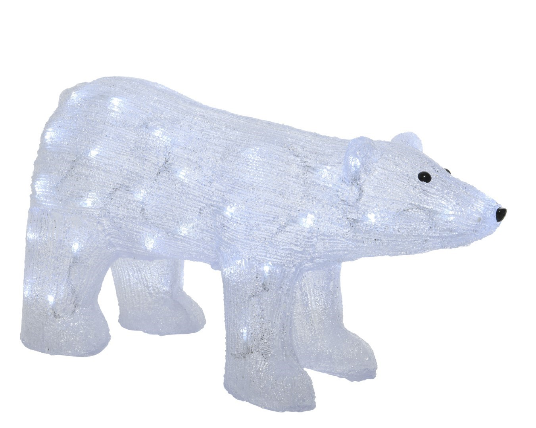 LED beer acryl buiten 62x24x33 cm 50L koelwit