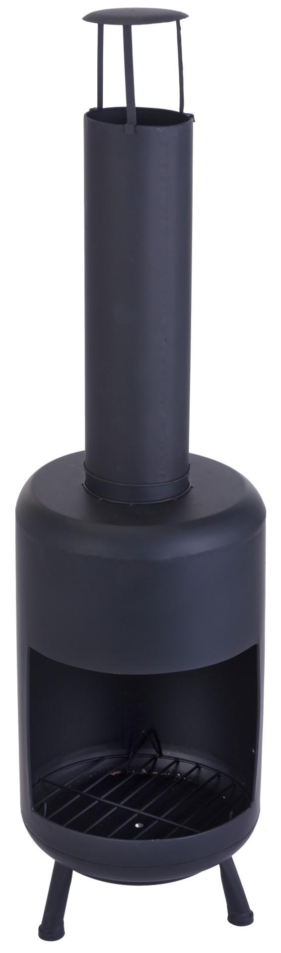 Sfeerhaard 30X30X105Cm Zwart