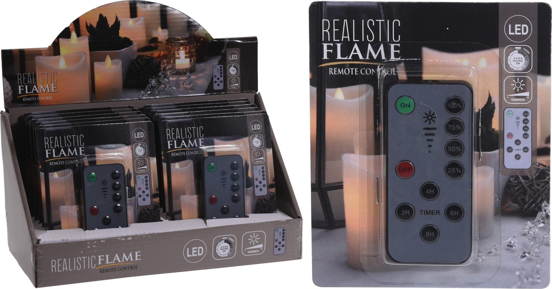 Afstandsbediening LEDkaars