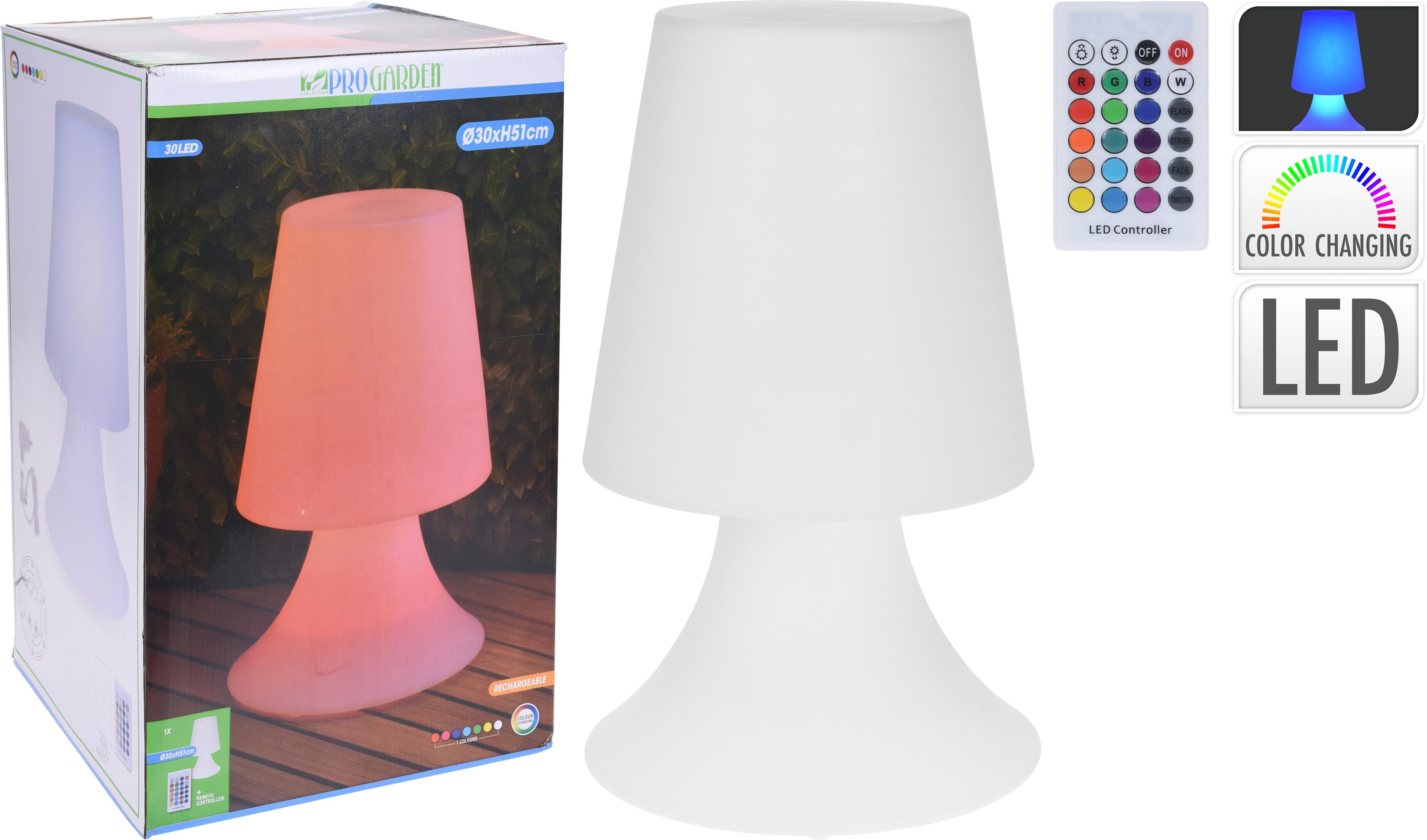 Led Lamp 51X30 cm Multi Kleur