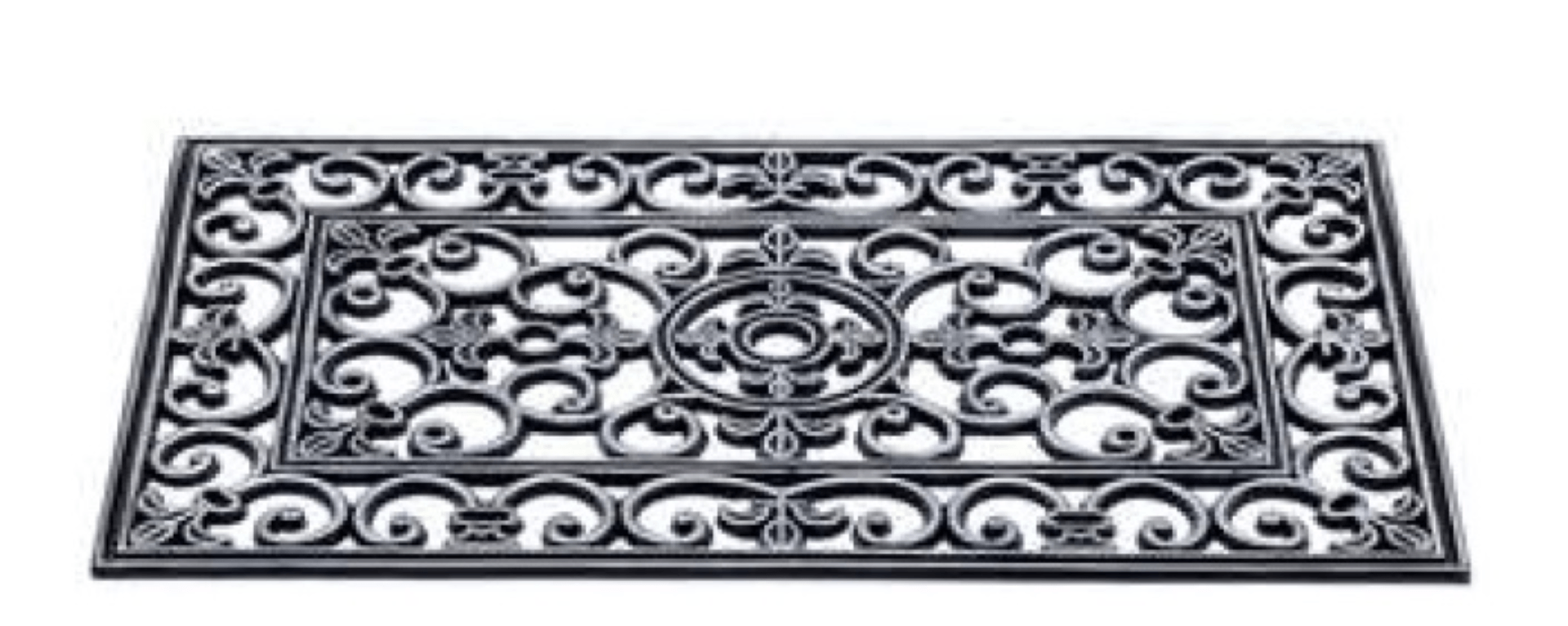 Rubber deurmat 45x75cm