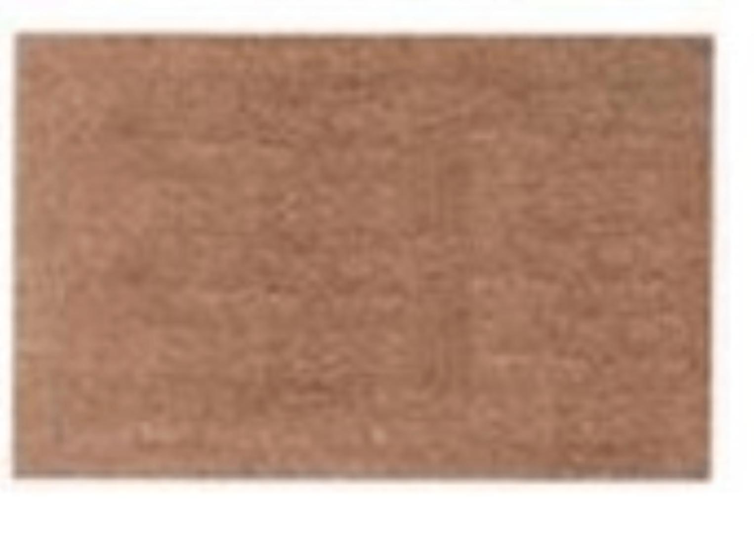 Deurmat 45x75 bruin