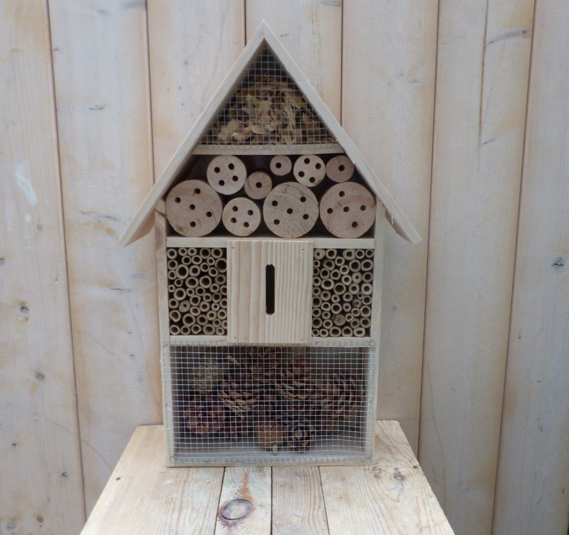 Insect Hotel hout 31x10x48