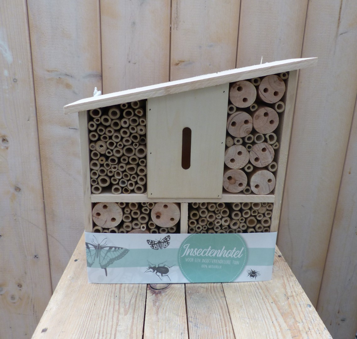 Insect Hotel hout 30x9x25/32