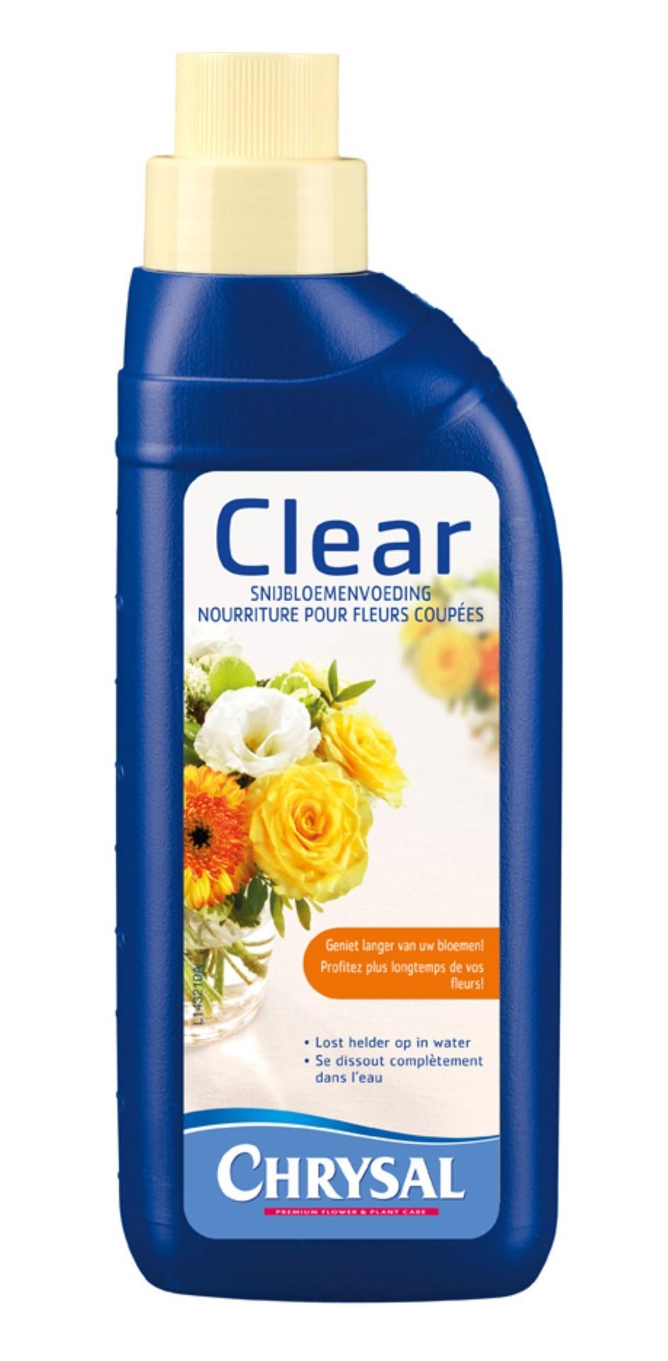 Snijbloemenvoedsel 500ml Chrysal Pokon Clear