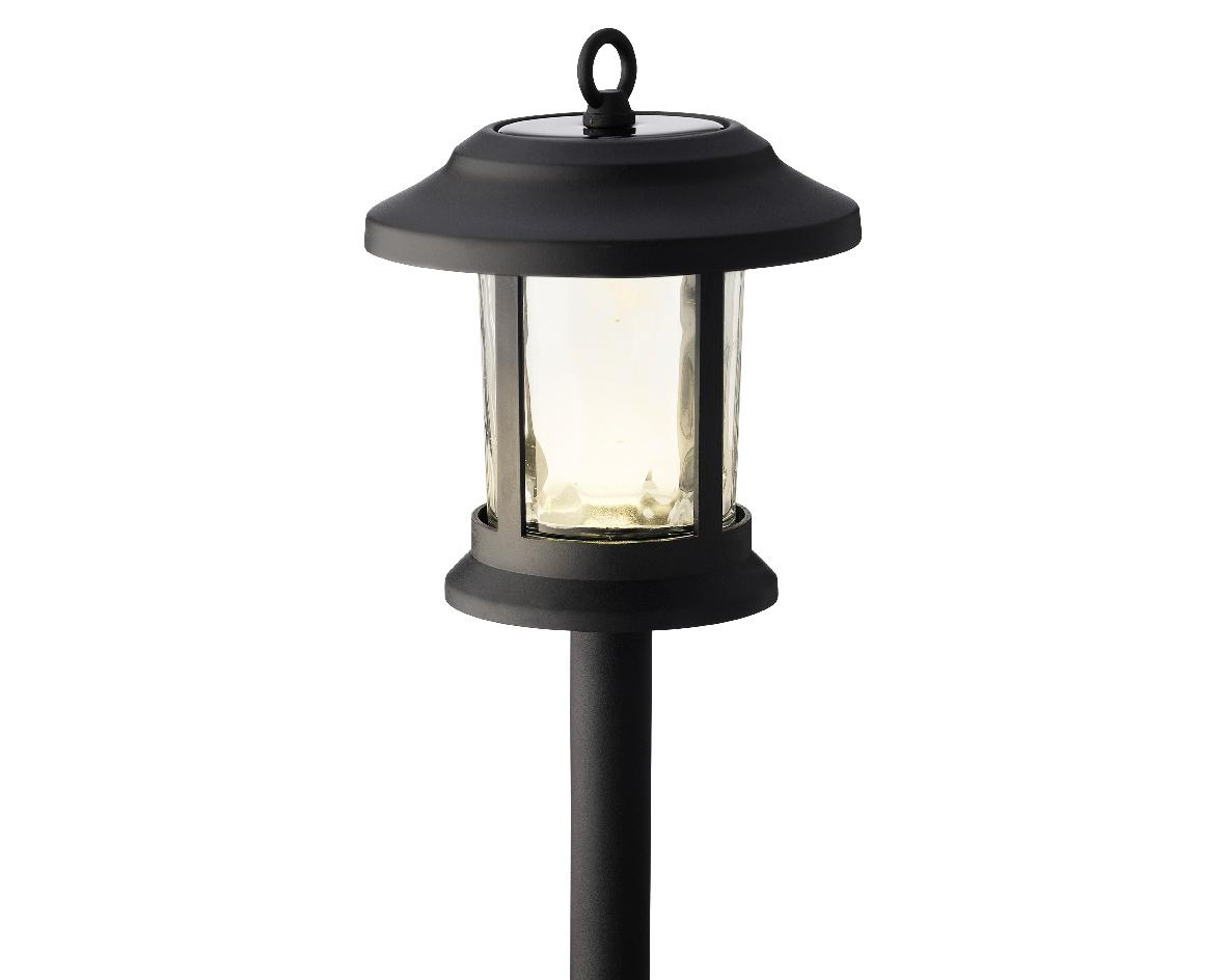 LED solar steker glas