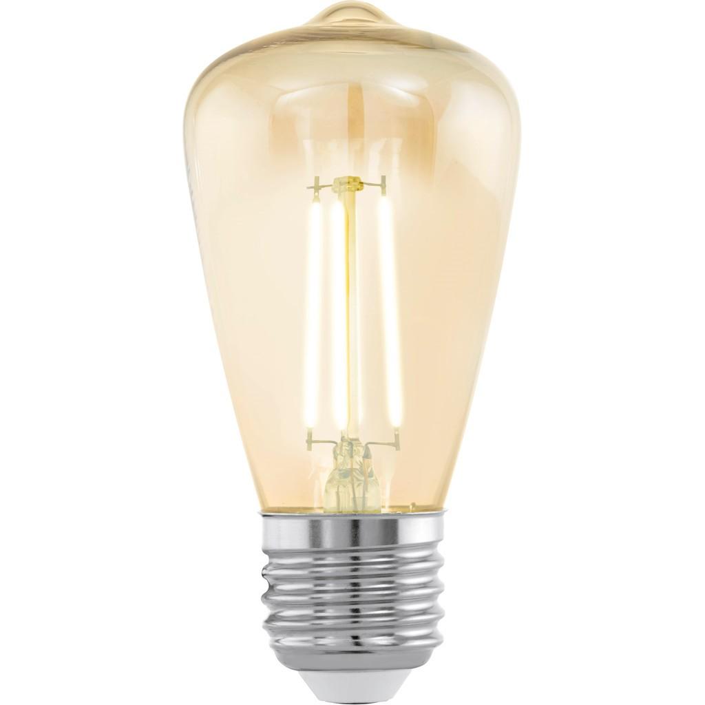 EGLO LED lichtbron diameter 4,8 cm E27 Amber