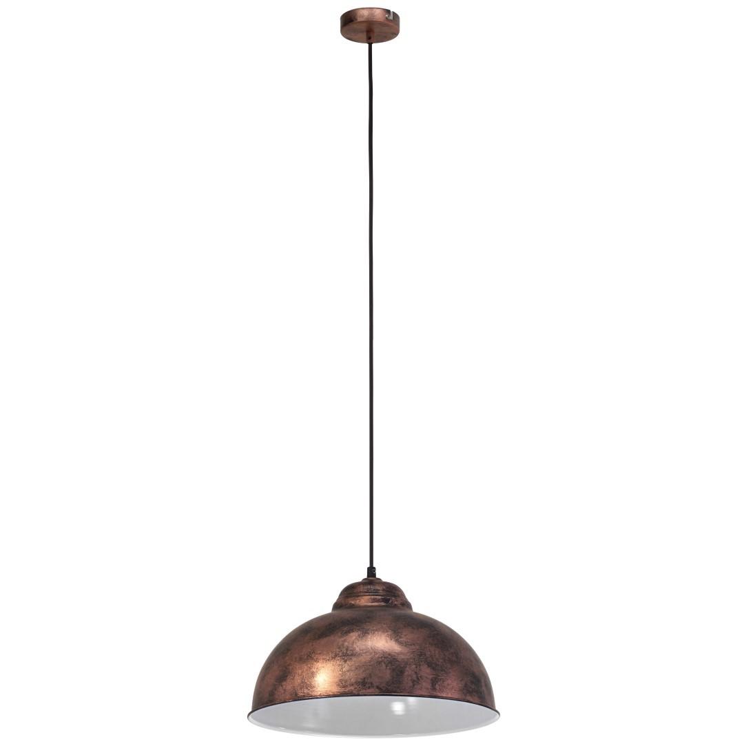 Hanglamp 1 E27 Antiek-Koper Truro 2