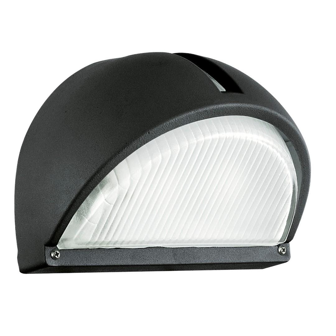 Wandlamp 1 E27 Zwart Onja