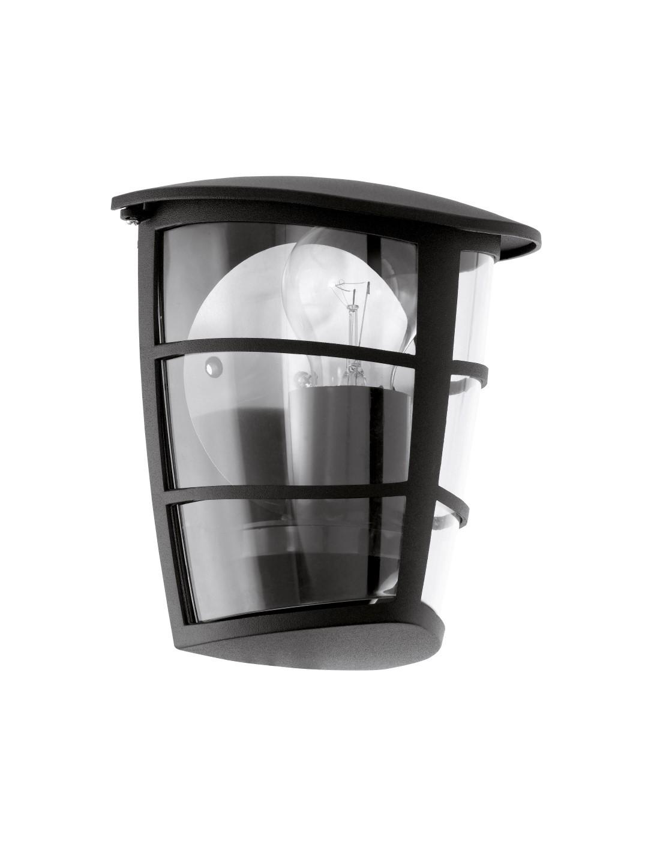 Wandlamp 1 Zwart Aloria