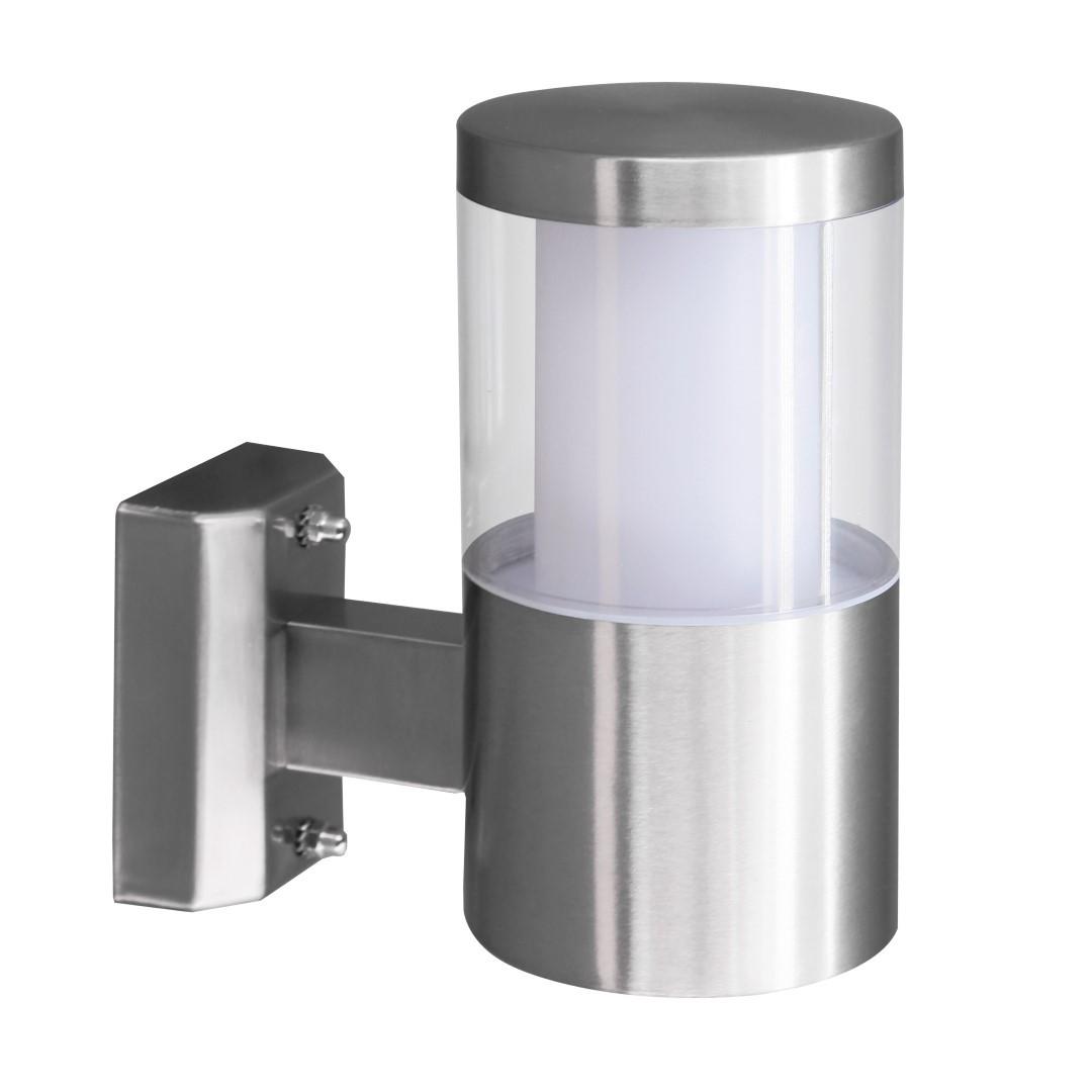 LED-Wandlamp 1 RVS Basalgo 1