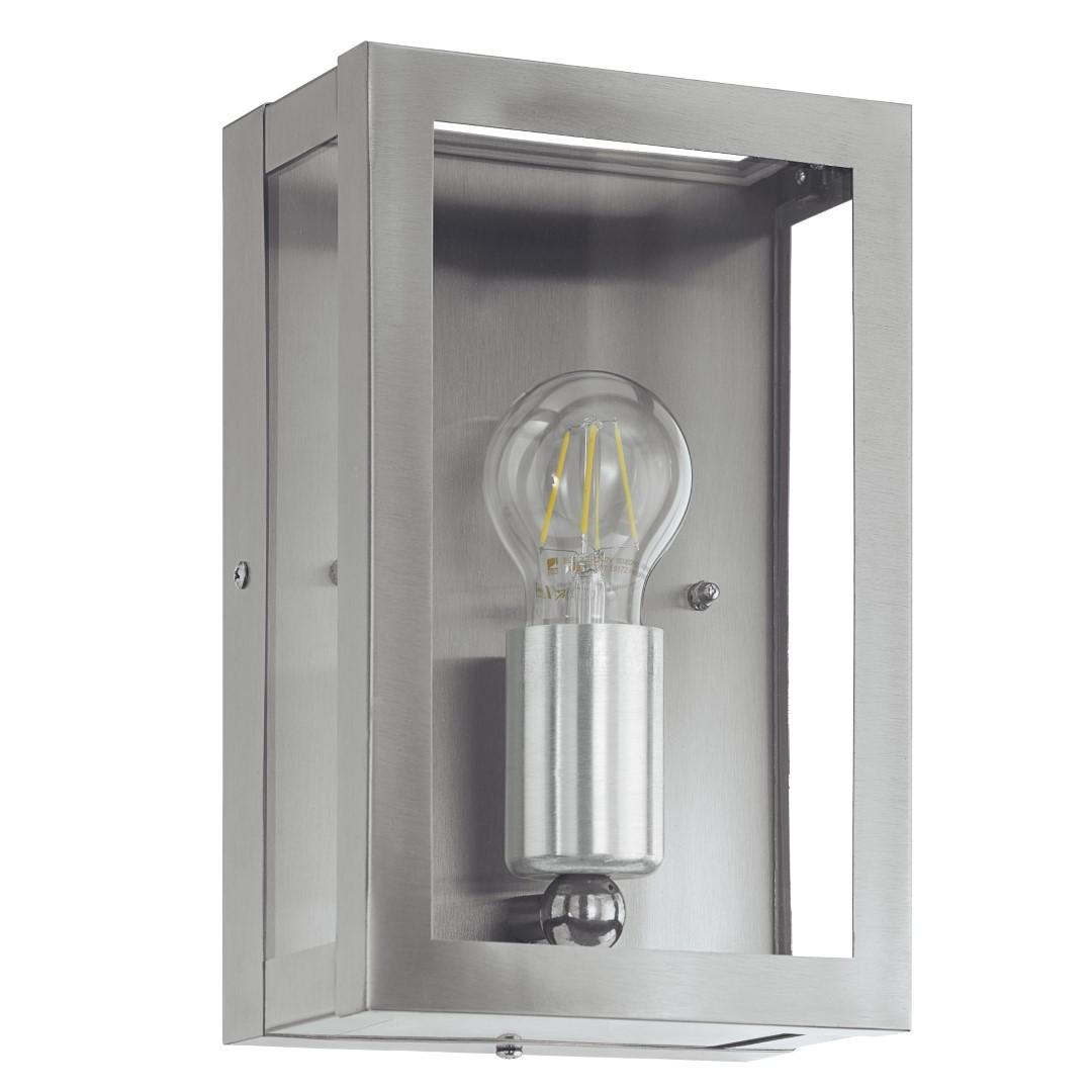 EGLO buiten-wandlamp RVS-glas Alamonte