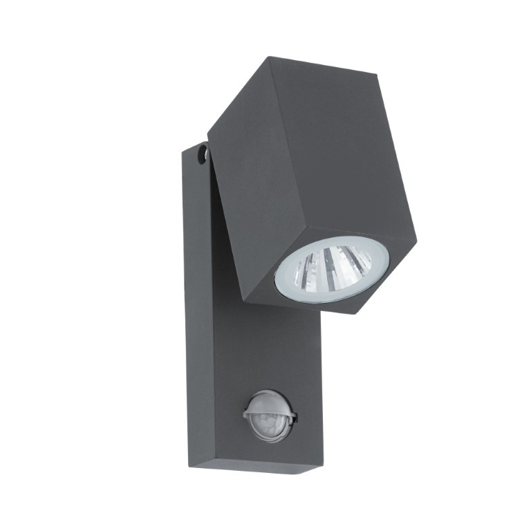 EGLO buiten-LED-wandlamp met sensor Sakeda