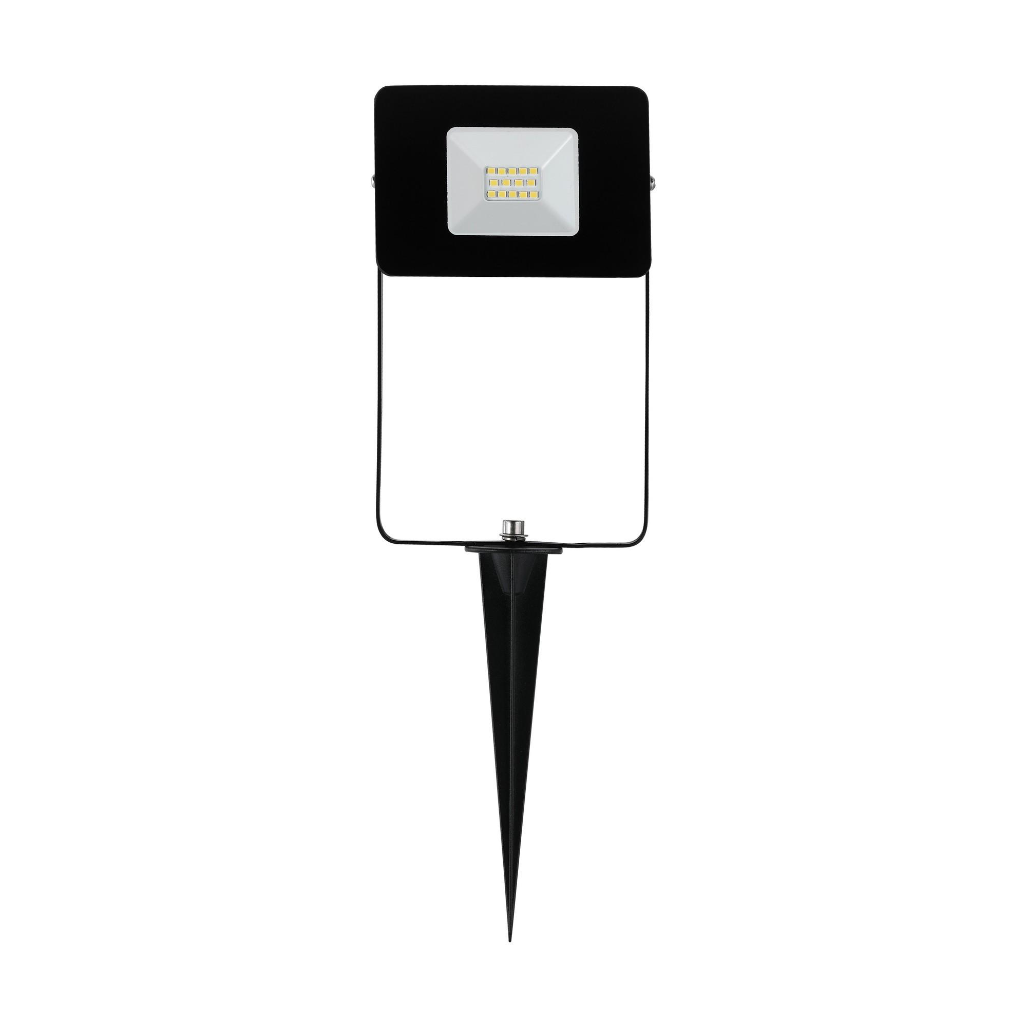 EGLO buiten LED straler/grondspie zwart Faedo 4