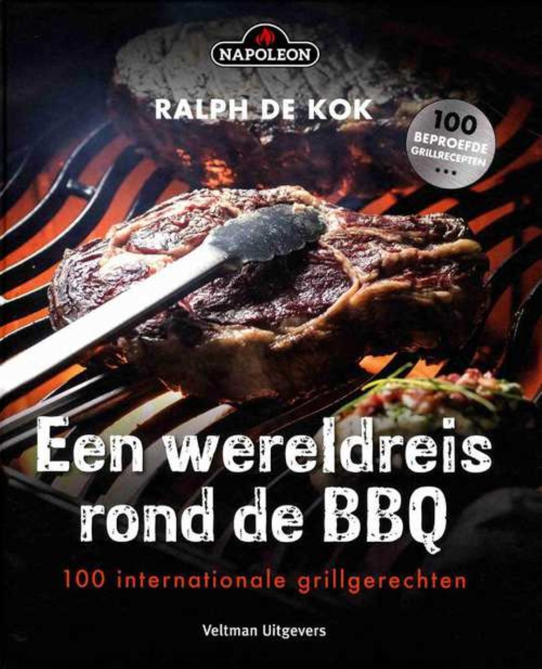 Napoleon Kookboek Een wereldreis rond de BBQ