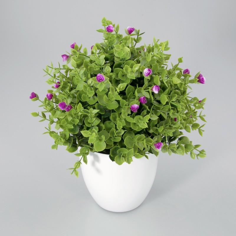 Plantje in kunststof pot Liv Kunst plantje lavendel