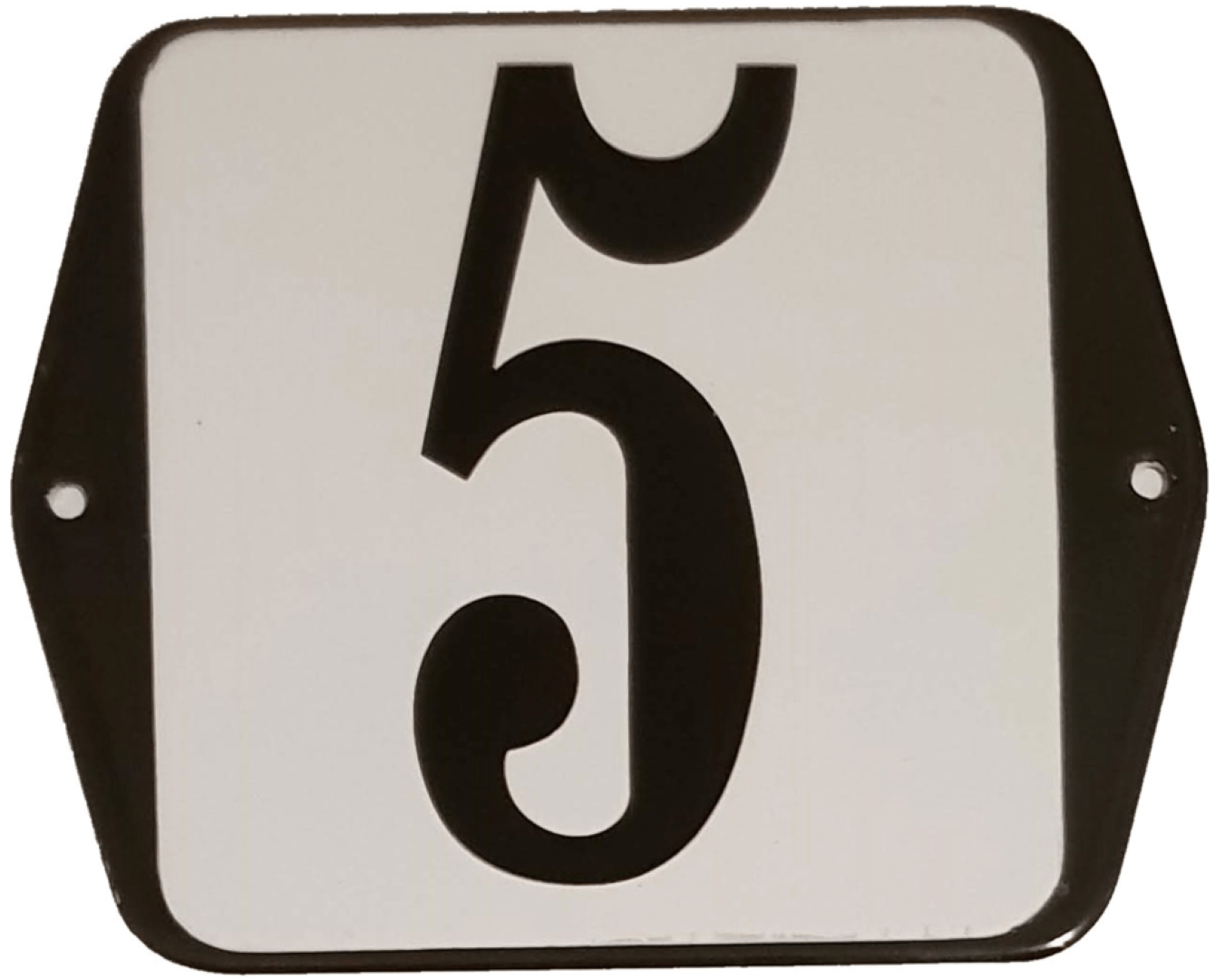 Huisnummer standaard nummer 5