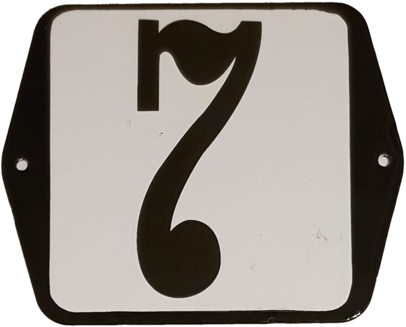 Huisnummer standaard nummer 7