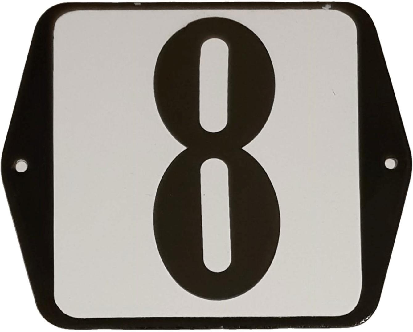 Huisnummer standaard nummer 8
