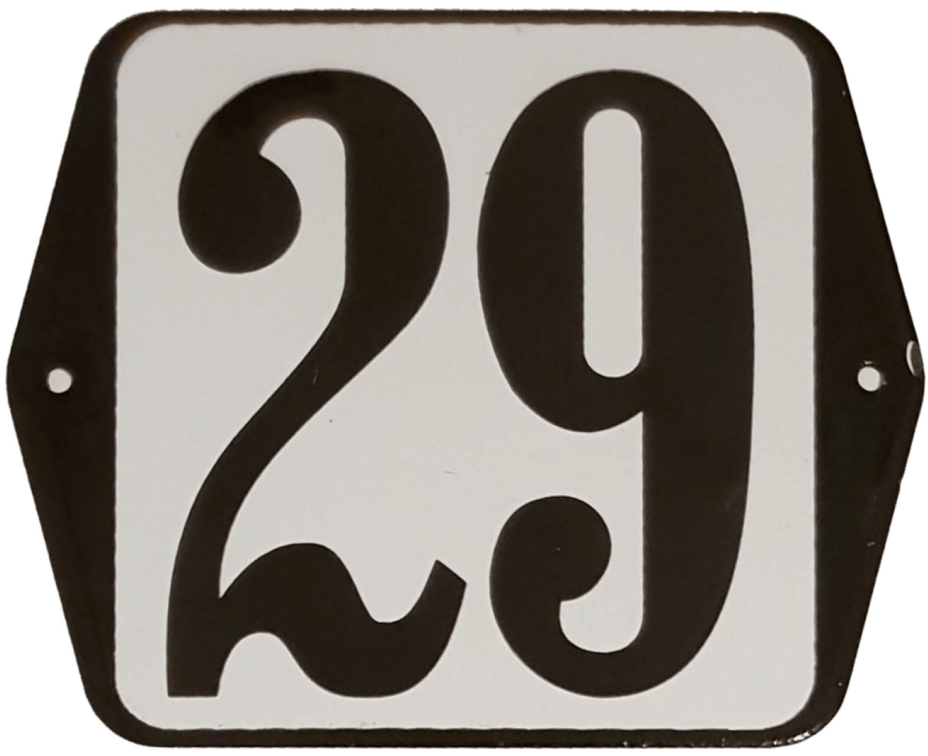 Huisnummer standaard nummer 29