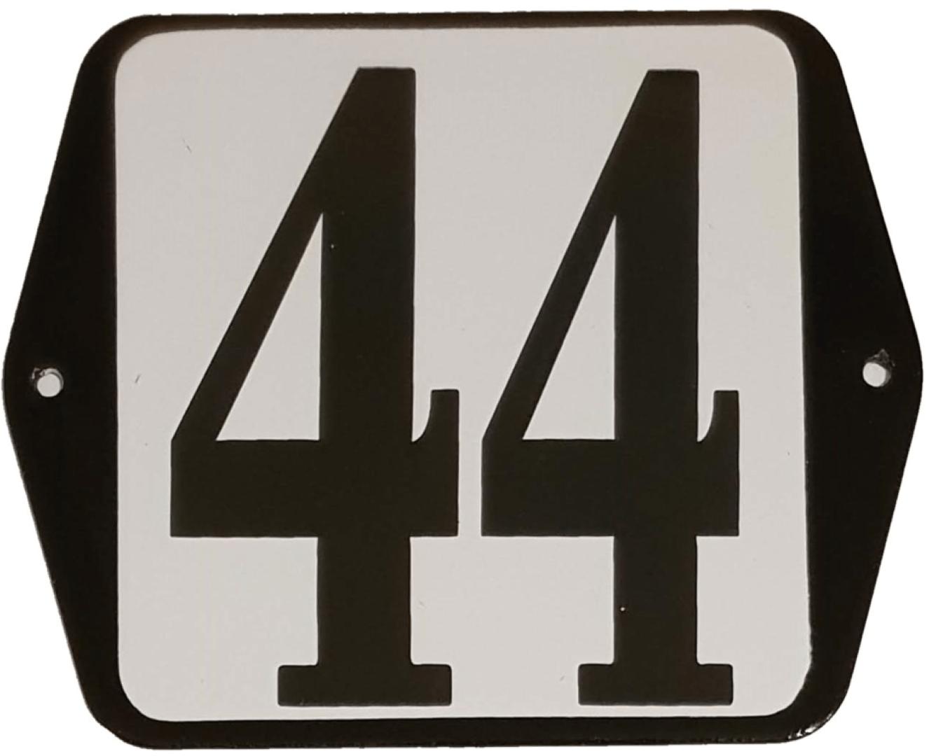 Huisnummer standaard nummer 44