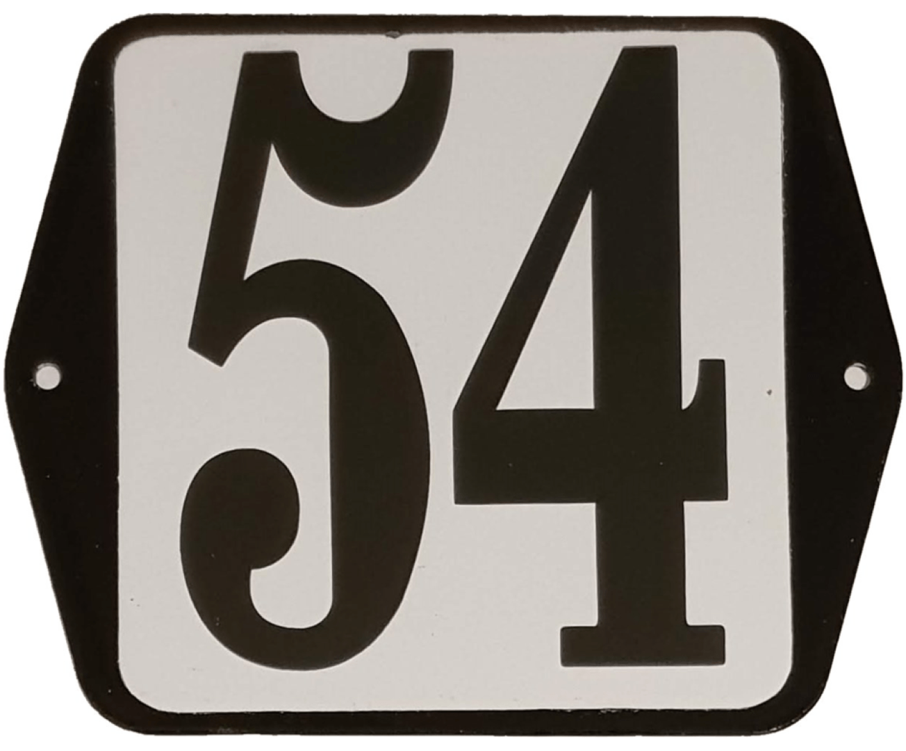Huisnummer standaard nummer 54